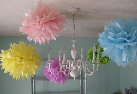 Fun stuff, decorating for a little girl's birthday party!