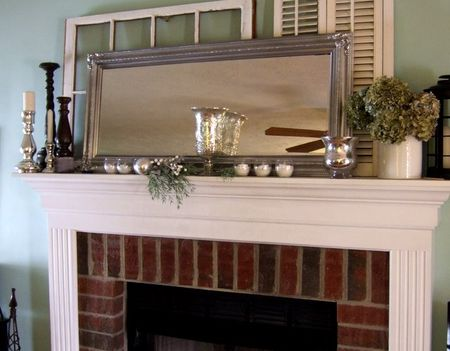 creative little daisy: A fireplace makeover