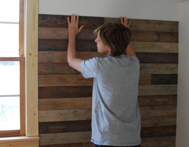Creative Little Daisy Palletless Pallet Wall How To