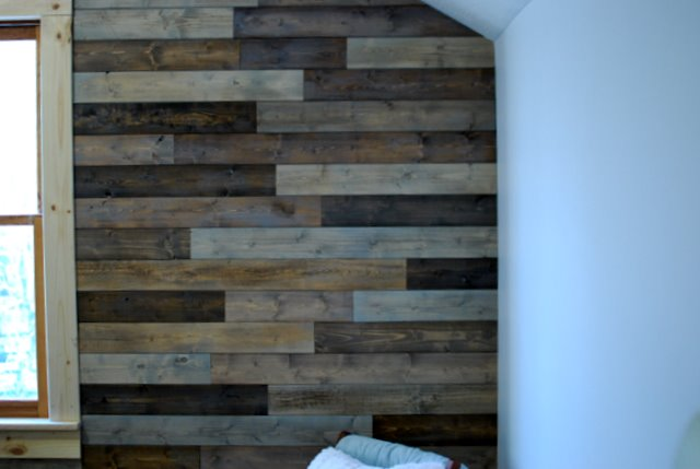 creative little daisy: Palletless Pallet Wall how to~
