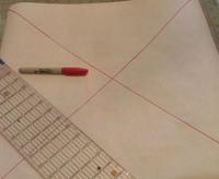 Mitered square tutorial