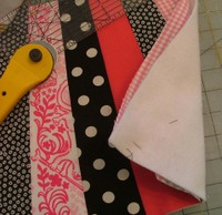 Quilted patchwork tutorial