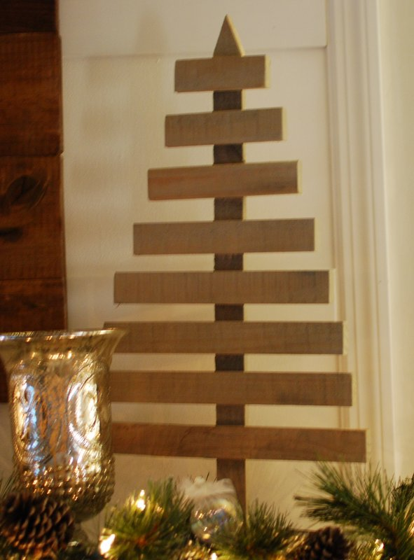 DIY rustic tree